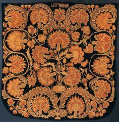 BED RUG, 1802  American Folk Art Museum