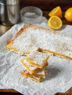 Lemon Bars With Shortbread Crust | Community Post: 16 Delicious Desserts You…