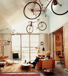 INSPIRÁCIÓK.HU Kreatív lakberendezési blog, dekoráció ötletek, lakberendező tanácsok: Tárolási ötletek: a bicikli