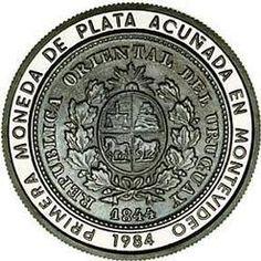 Coin; Pesos, Uruguay, 1984.