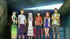 Ano Hi Mita Hana no Namae wo Bokutachi wa Mada Shiranai (Anohana) - anime terbaik