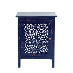 Blue Solid Mango Wood Bedside Table Shibori on Maisons du Monde. Take your pick from our furniture and accessories and be inspired! Shibori, Decorative Objects, Decorative Boxes, Moving In Together, Room Goals, Warm Grey, Home Bedroom, Bedside, Decoration