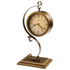 Howard Miller Jenkins Two-Sided Sofa Table Clock - BedBathandBeyond.com