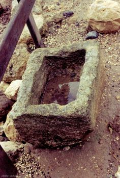 make a manger photos | manger a stone manger in israel this was used to put animal feed in ...