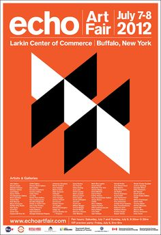 echo Art Fair poster by Montague Projects, via Flickr
