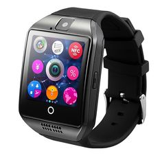 SIM Card Q18 Smart Watch Sport Clock Sleep Tracker Smartwatch Android with Camera for Apple iPhone Smartphones #SmartWatch