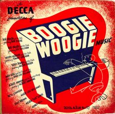 Boogie Woogie Music, LP cover