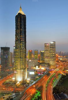 Jinmao Tower, Shanghai, China