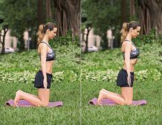 Barriga negativa com 12 exercícios hipopressivos Treino localizado