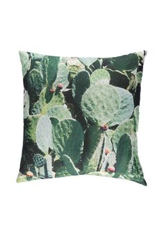 Product Name:Cactus Print Decorative Pillow, Category:ACC, Price:9.9