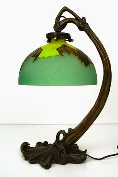Goth Shopaholic: Art Nouveau Bat Lamps for Elegant Gothic Home Decor