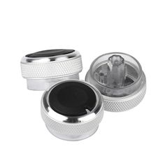 Car styling New Hot  Air Conditioning Heat Control Switch Knob For FORD 3Pcs For Focus Car Styling #4.27