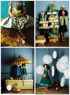 sweet kids editorial for holiday