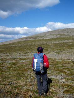 Saariselkä, Finland. Lightweight hiking. Trekking in Saariselkä: http://www.saariselka.com/treklife