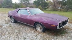 Someday I'll get to it...1971 Javelin SST.