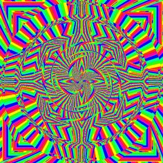 Bewildered Volume 9 by Smooothe Rainbow Gif, Trippy Eye, Trippy Visuals, Types Of Aesthetics, Hippie Trippy, Cool Optical Illusions, Fractal Images, Creepy Pictures, Rainbow Aesthetic