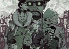 With its historical setting, Bitter Root Vol tackles American racism head on, the monsters are transformed by the hatred in their souls. American Art, American History, Harlem Nights, Image Comics, Monster Hunter, Macabre, Bitter, Great Artists, Art Forms