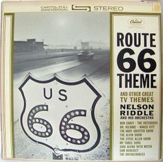 Nelson Riddle and his Orchestra - Route 66 Theme and Other Great TV themes (1962)