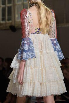 "forlikeminded: "" Alexander McQueen | Paris Fashion Week | Spring 2017 """