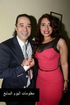 صور مدحت صالح وزوجته الشاعرة نورة الباز