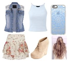 """🌟"" by camille-hnq ❤ liked on Polyvore featuring maurices, Morgan, Charlotte Russe and Casetify"