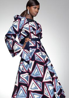 Vlisco Parade Of Charm Fashion Look