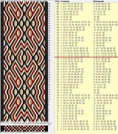 32 tarjetas, 4 colores, repite cada 28 movimientos // sed_714 diseñado en GTT༺❁