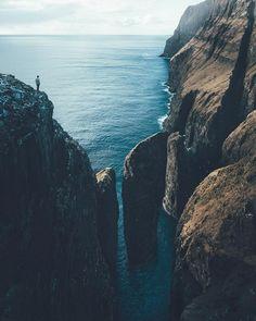 Nada mejor que un momento de soledad mira el horizonte