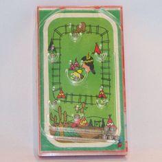 Vintage 1970s Handheld Pinball Game  Indians by VintageCreekside, $8.00