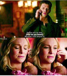 #TVD The Vampire Diaries Klaus & Caroline