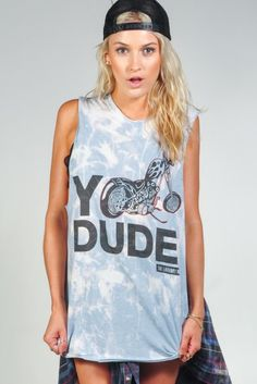 The Laundry Room 'Yo Dude' Tee | Orchid Boutique