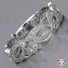 Art Nouveau Style Wedding Bands | The Wedding Specialists