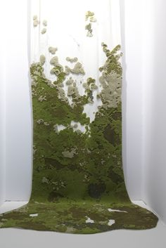 Landscape by Elizabeth Leriche // Inspired by Material as Medium: Contemporary Textiles Pop Design, Tai Ping Carpet, Taiping, Instalation Art, Art Plastique, Textile Art, Sculpture Art, Fiber Art, Contemporary Art