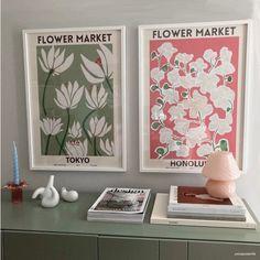 Room Ideas Bedroom, Bedroom Decor, Wall Decor, Pastel Room, Aesthetic Room Decor, Flower Market, New Wall, My New Room, Wall Collage