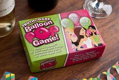 Truth or dare balloon pop game for hen night