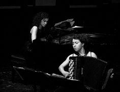 Polona Tominec, fisarmonica; Giovanna Gatto, pianoforte