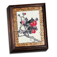 FREE SHIPPING! Shop Wayfair for Picture it on Canvas Asian Paintings Pink Blossoms Painting Print on Wrapped Canvas - Great Deals on all Decor products with the best selection to choose from!