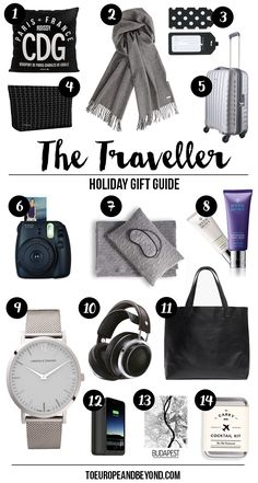holiday gift guide travel
