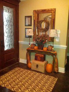 My Fall Foyer   # Pinterest++ for iPad #