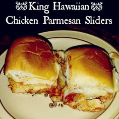 King Hawaiian Chicken Parmesan Sliders recipePlucky's Second Thought | Plucky's Second Thought