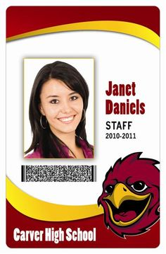 Template-for-Identification-Card   ID Badge   Pinterest   Design ...