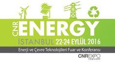 Enerji Piyasası '2. Enerji ve Çevre Teknolojileri Fuar ve Konferansı'nda Buluşuyor  Sektörün tüm paydaşları özel sektör, kamu kuruluşları ve akademik kadrolar, CNR ENERGY ISTANBUL 2016'da bir araya gelecek.   Geçtiğimiz sene özellikle konferans içeriği ile ilgi toplayan CNR ENERGY İSTANBUL - Enerji ve Çevre Teknolojileri Fuar ve Konferansı'nı...