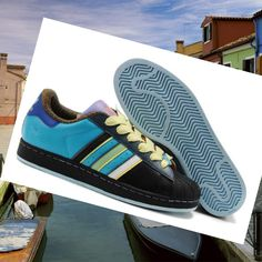 buy popular 38533 a0b3a Footwear men Adidas Superstar 2 black white Pure Cyan HOT SALE! HOT PRICE!