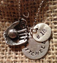 Hey, I found this really awesome Etsy listing at https://www.etsy.com/listing/127129784/hand-stamped-jewelry-stamped-sports