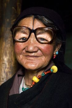 Tibet...Not the best fit...But she can see...(Things we take for granted)...