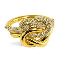 Gold knot: Rachel Zoe Collection Jewelry | The Zoe Report
