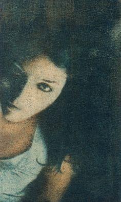 Goma bicromatada: Retrato de Verónica