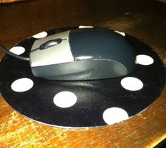 Great idea to redo old mouse pads