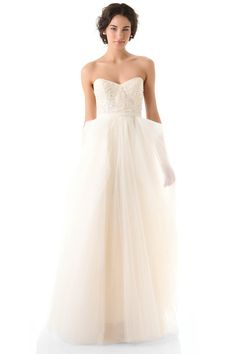 2013 Wedding Dresses A Line Sweetheart Floor Length Tulle With Sequins