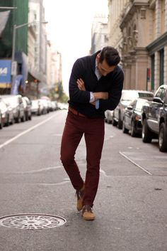 sweater by j.crew. shirt by TH. cords by levis. shoes by florsheim. photo by matthew perrone.